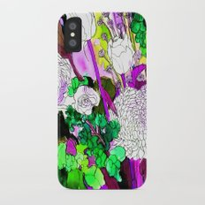 forest flowers 2 iPhone X Slim Case