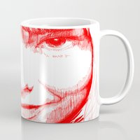 bjork Mugs featuring BJORK by Andhika Tile