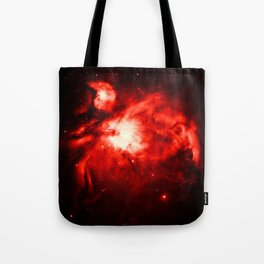 Orion NeBULA : Red Tote Bag