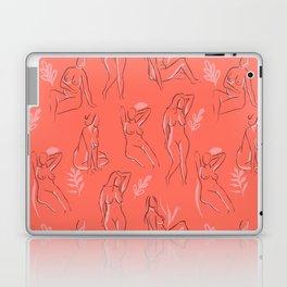 Coral Women Laptop & iPad Skin