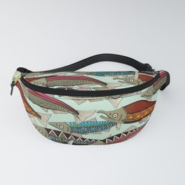 Alaskan salmon mint Fanny Pack