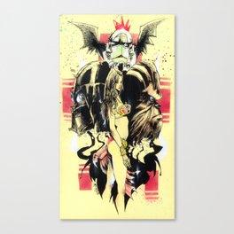 Storm Trooper Boogie Canvas Print