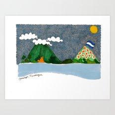 Ometepe, Nicaragua Art Print