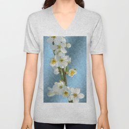 Flower branch - spring is coming #1 Unisex V-Neck