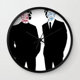 Geometric John and Paul Wall Clock