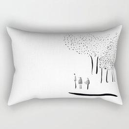 Houtkappers. Rectangular Pillow