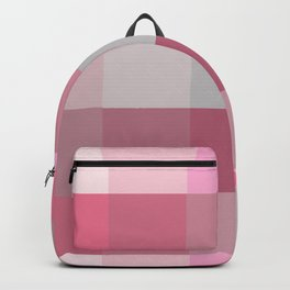 Pixels: Pinks & Grey Backpack
