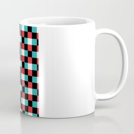 Pixeled Squares Coffee Mug