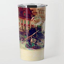 Street Life in Breslau Travel Mug