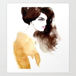 Looking forward Art Print
