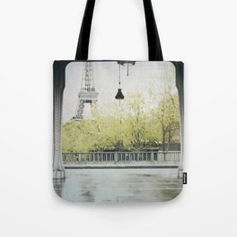 Letters From Autumn in Paris Tote Bag