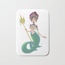 Bejeweled Mermaid Bath Mat