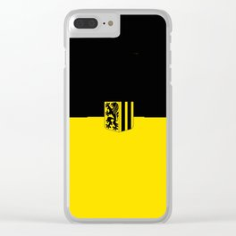 Flag of Dresden Clear iPhone Case