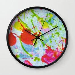 Plops Wall Clock