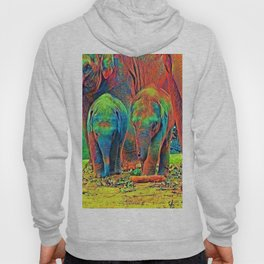 AnimalColor_Elephant_001_by_JAMColors Hoody