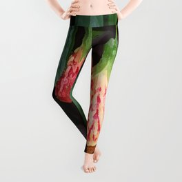 BRIZILLAN MAPLE BELL FLOWER Leggings