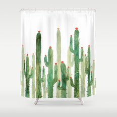 Cactus Four Shower Curtain