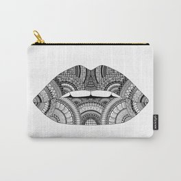 Lips Zendoodle Carry-All Pouch