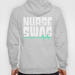 Nurse Swag Heartbeat Hoody