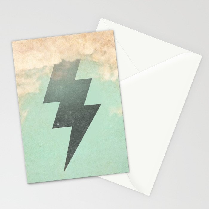 Bolt from the Blue Stationery Cards
