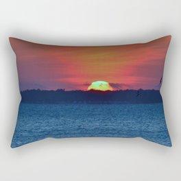 Sun Sinking Rectangular Pillow