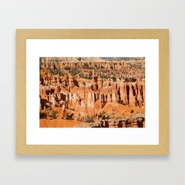 Hoodoo Framed Art Print