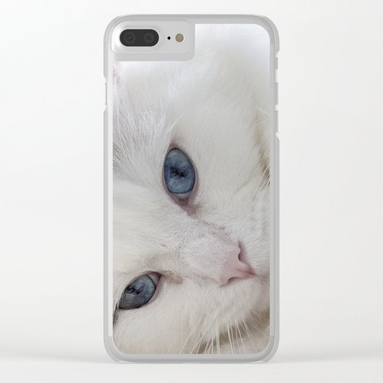 Bedroom eyes Clear iPhone Case
