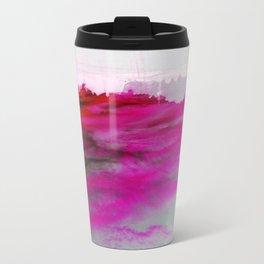 Purple Clouds Red Mountain Travel Mug