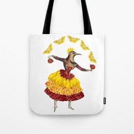 Bird Dancer - first in a series Tote Bag