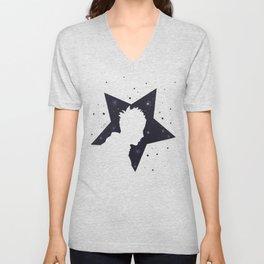 Star Man (Silhouette) Unisex V-Neck