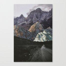 Night, A Landscape Canvas Print