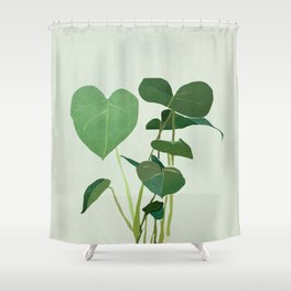 Plant 3 Shower Curtain