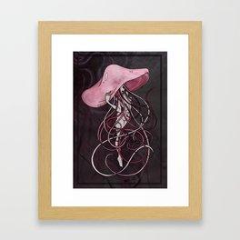 Jelly in Pastel Framed Art Print