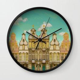 Victorian Street Wall Clock