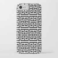 greek iPhone & iPod Cases featuring Greek Print by I Love Decor