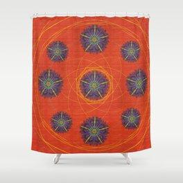 Wish Flower Shower Curtain