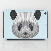 panda iPad Cases featuring panda by Nir P