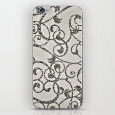 Glitter Swirl iPhone & iPod Skin