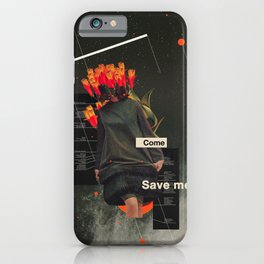 Save Me iPhone Case
