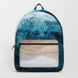 Watercolour Summer beach III Backpack