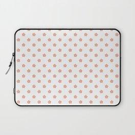 Polka Flower Spring Dots Laptop Sleeve