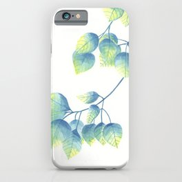 Blue Aspen iPhone Case