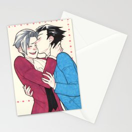 Phoenix kisses Stationery Cards