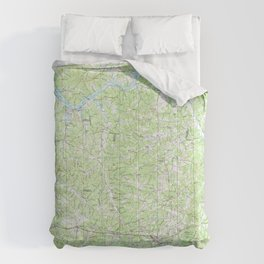 TN Dickson 143870 1985 topographic map Comforters
