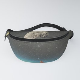 Summer with a Chance of Asteroids Fanny Pack