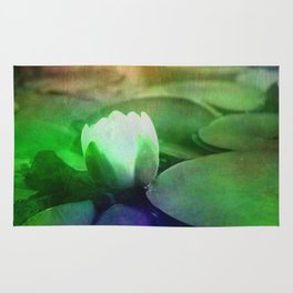 Water lily Rug