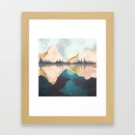 Summer Reflection Framed Art Print