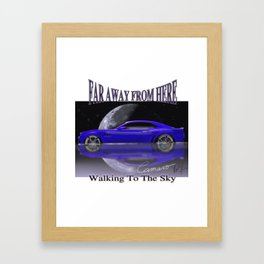 American car - Walking to the sky! Camaro Framed Art Print