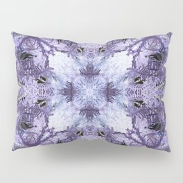 Inverse Fern Reflection Pillow Sham
