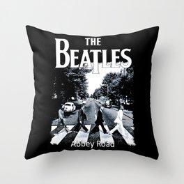Abbey Road Walking Throw Pillow
